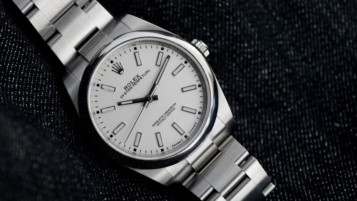 Rolex Oyster Perpetual 39 White Dial Cheapest Entry Level Rolex Watch Review